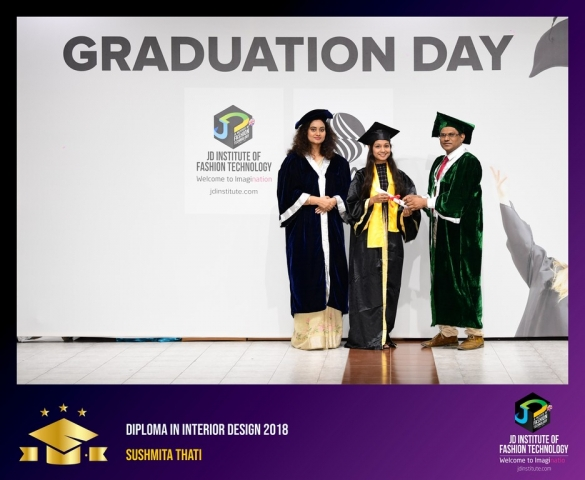 JD Institute Holds Graduation Ceremony for its Diploma and Post Graduate Students Diploma In Interior Design 58