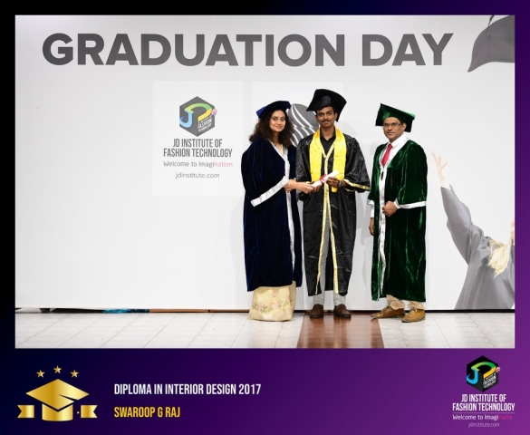JD Institute Holds Graduation Ceremony for its Diploma and Post Graduate Students Diploma In Interior Design 59