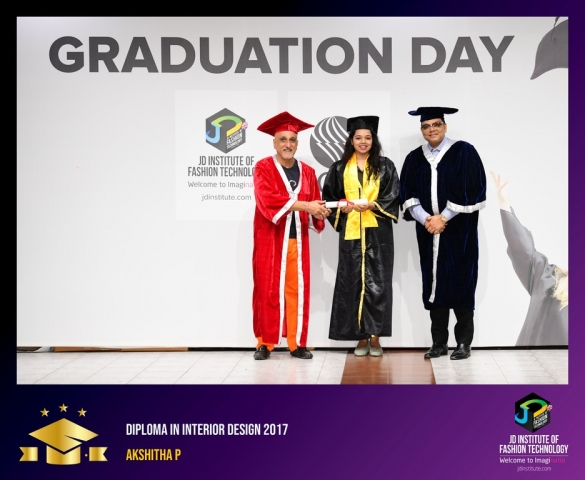 JD Institute Holds Graduation Ceremony for its Diploma and Post Graduate Students Diploma In Interior Design 6