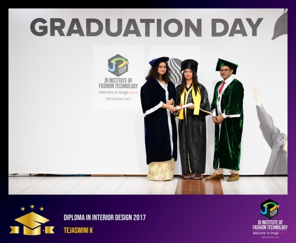 JD Institute Holds Graduation Ceremony for its Diploma and Post Graduate Students Diploma In Interior Design 62