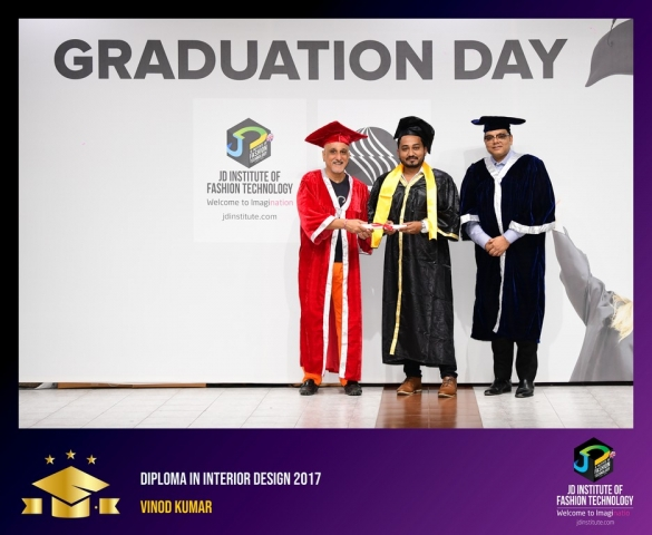 JD Institute Holds Graduation Ceremony for its Diploma and Post Graduate Students Diploma In Interior Design 64
