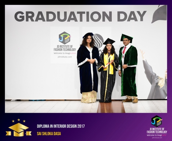 JD Institute Holds Graduation Ceremony for its Diploma and Post Graduate Students Diploma In Interior Design 65