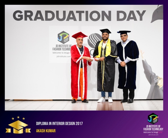 JD Institute Holds Graduation Ceremony for its Diploma and Post Graduate Students Diploma In Interior Design 66