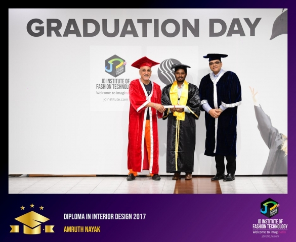 JD Institute Holds Graduation Ceremony for its Diploma and Post Graduate Students Diploma In Interior Design 7