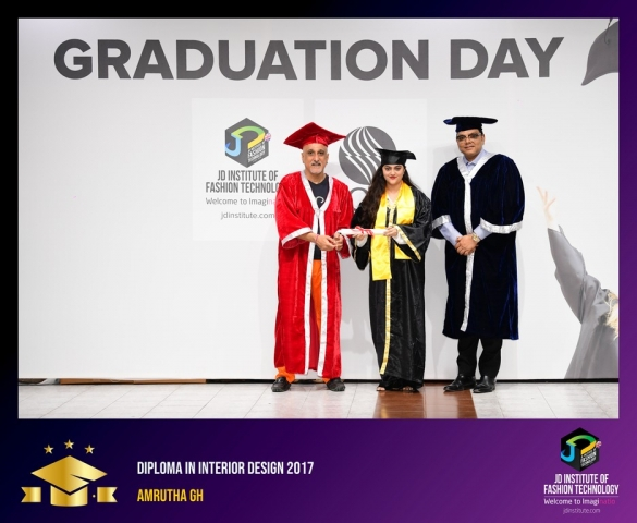 JD Institute Holds Graduation Ceremony for its Diploma and Post Graduate Students Diploma In Interior Design 8