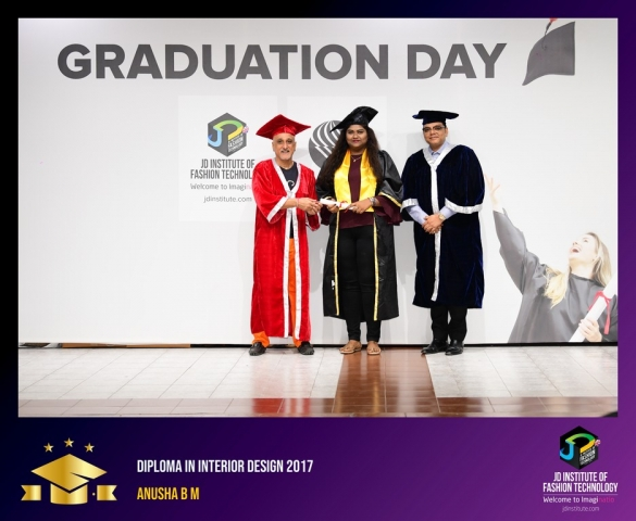 JD Institute Holds Graduation Ceremony for its Diploma and Post Graduate Students Diploma In Interior Design 9
