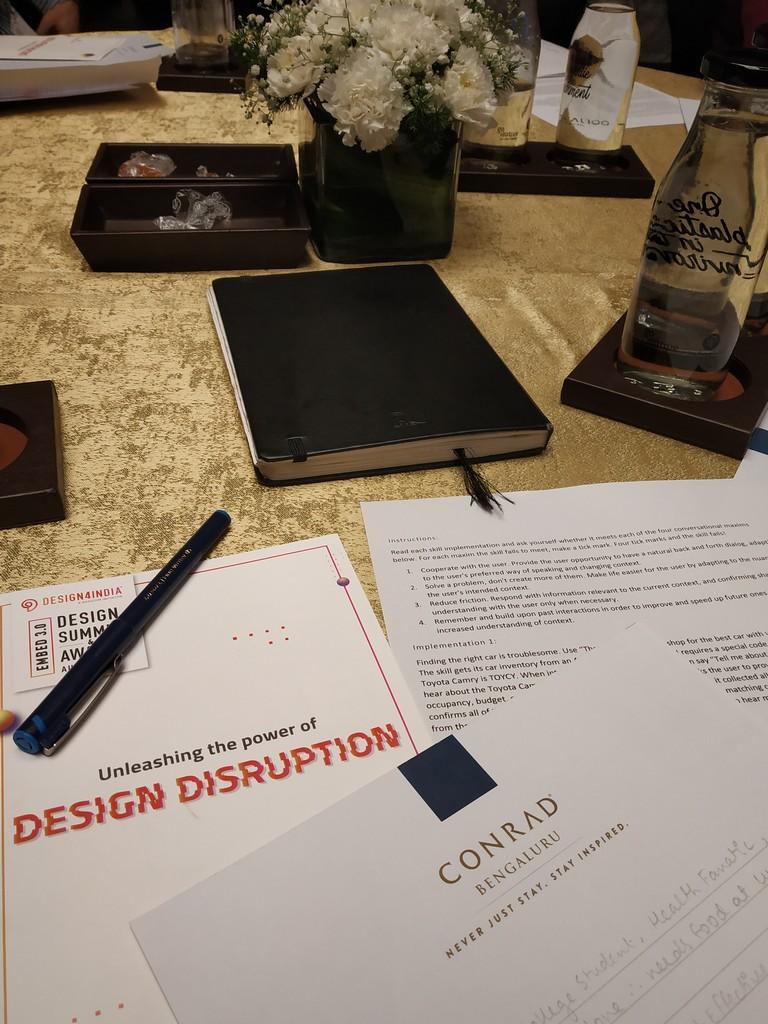 DESIGN4INDIA  design4india FACULTIES ATTEND 2019 DESIGN4INDIA SUMMIT AT CONRAD BANGALORE IMG 20190822 103600