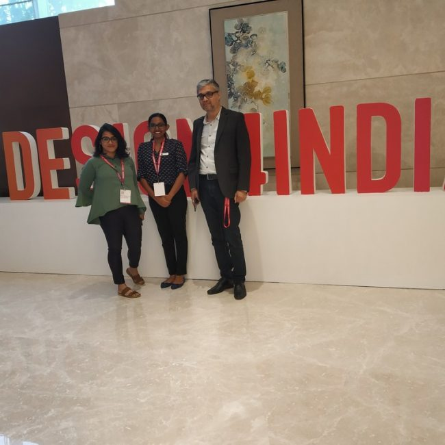 design4india FACULTIES ATTEND 2019 DESIGN4INDIA SUMMIT AT CONRAD BANGALORE IMG 20190822 175740 650x650