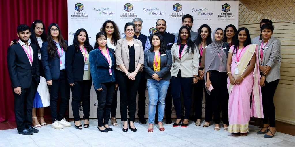 jd institute of fashion technology collaborates with georgian college, canada - JD INSTITUTE OF FASHION TECHNOLOGY COLLABORATES WITH GEORGIAN COLLEGE 10 1024x513 - JD INSTITUTE OF FASHION TECHNOLOGY COLLABORATES WITH GEORGIAN COLLEGE, CANADA