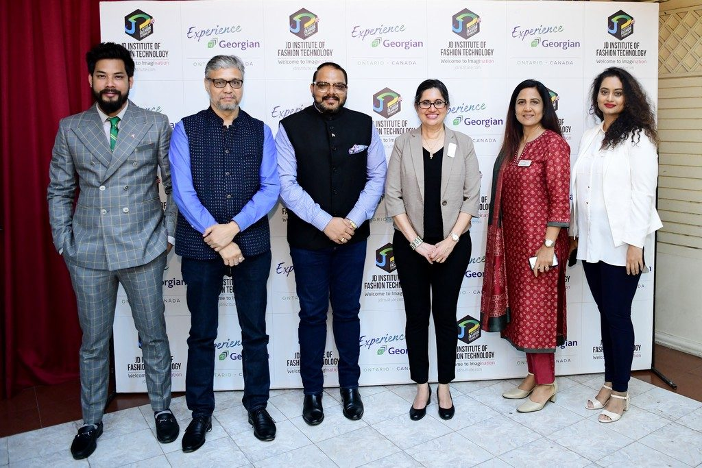jd institute of fashion technology collaborates with georgian college, canada - JD INSTITUTE OF FASHION TECHNOLOGY COLLABORATES WITH GEORGIAN COLLEGE 9 1024x683 - JD INSTITUTE OF FASHION TECHNOLOGY COLLABORATES WITH GEORGIAN COLLEGE, CANADA
