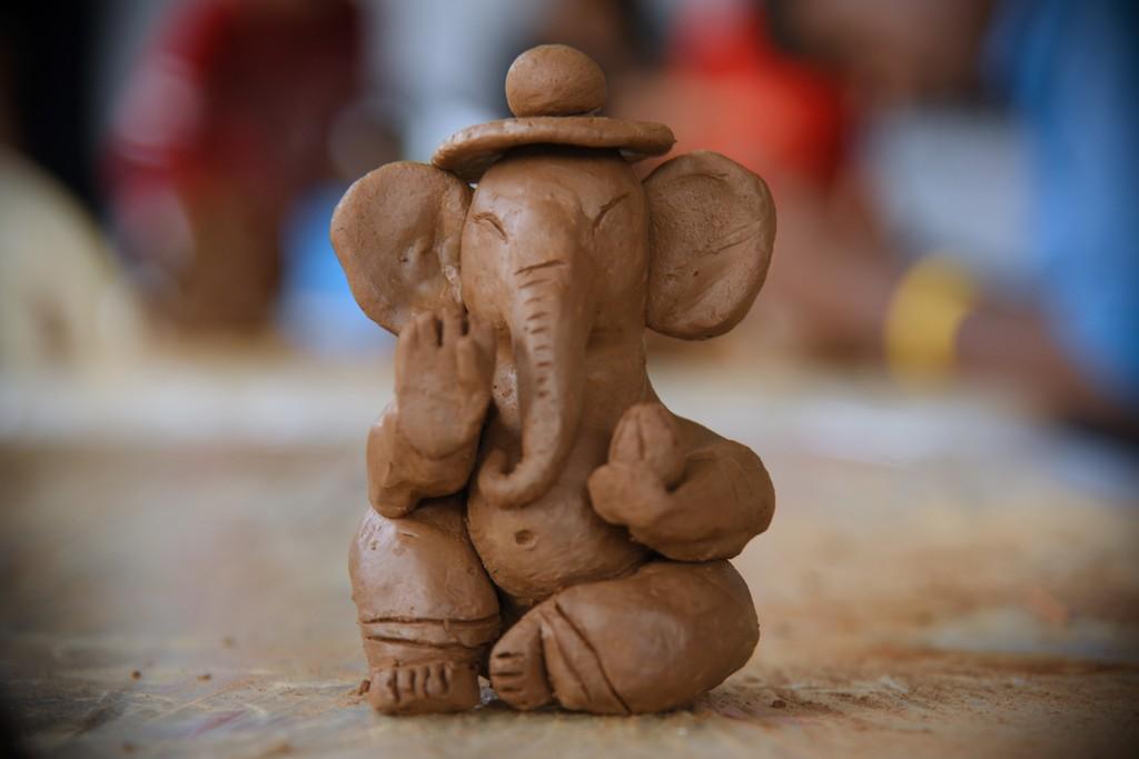 Jediiians Go Green this Ganesh Chaturthi: Clay Workshop at JD Institute Jediiians Go Green this Ganesh Chaturthi 1