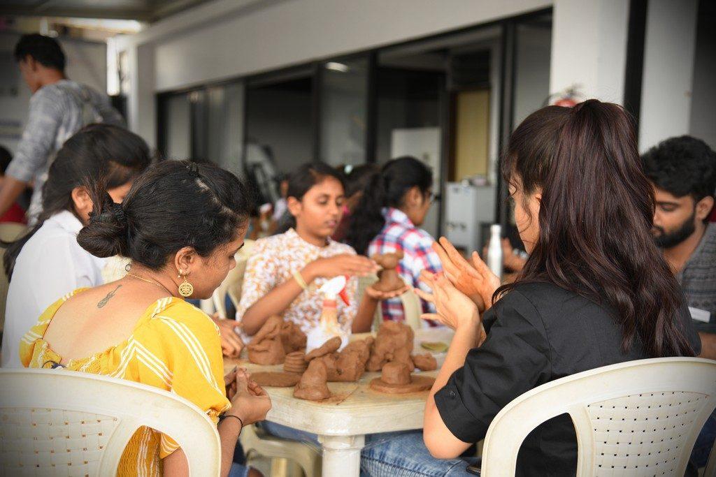 jediiians - Jediiians Go Green this Ganesh Chaturthi 5 1024x683 - Jediiians Go Green this Ganesh Chaturthi: Clay Workshop at JD Institute