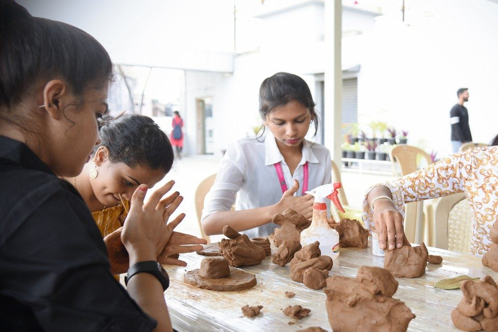 jediiians - Jediiians Go Green this Ganesh Chaturthi 6 1024x683 - Jediiians Go Green this Ganesh Chaturthi: Clay Workshop at JD Institute