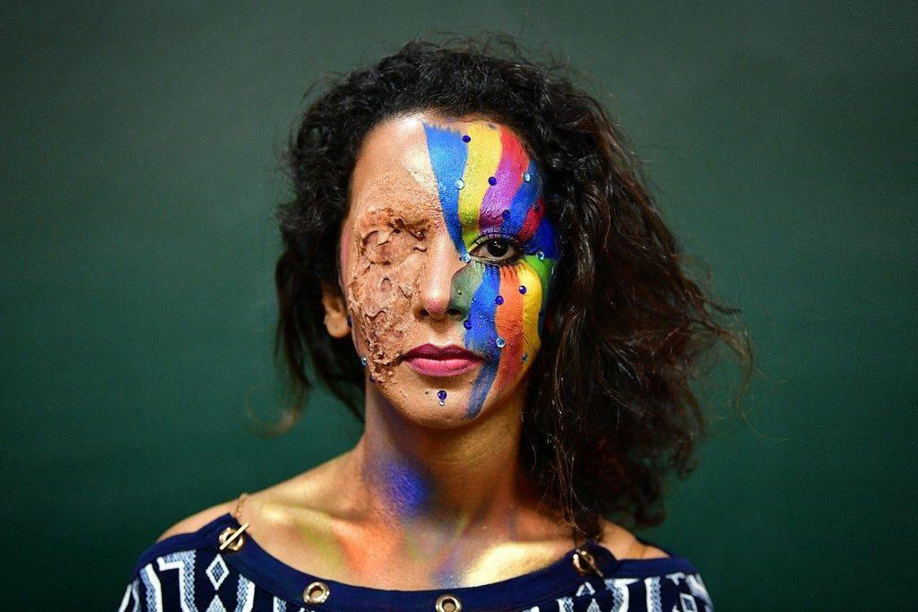 Kryolan kryolan - Makeup Artistry Course Students Get Creative with Kryolan2 1024x683 - Makeup Artistry Course Students Get Creative with Kryolan