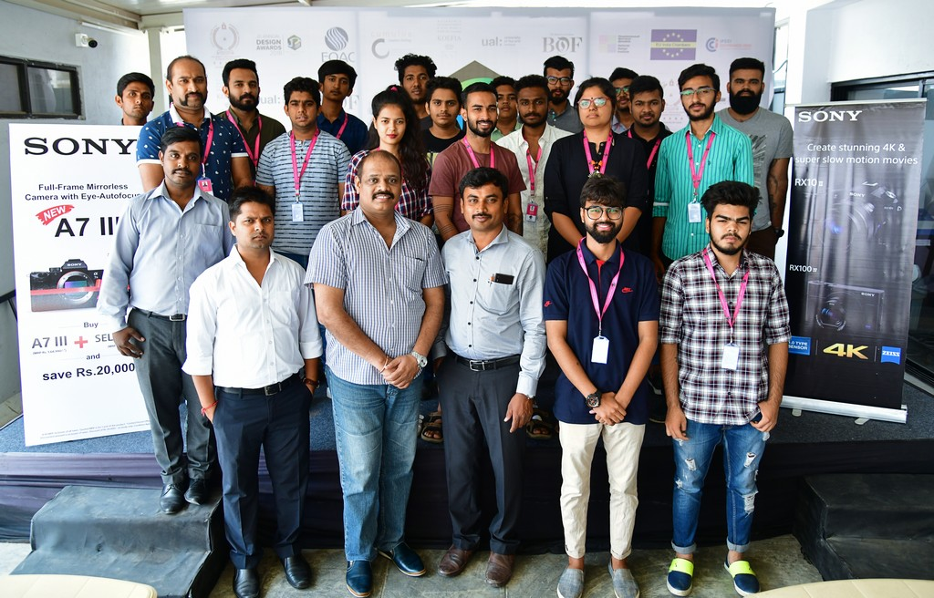 photography - Photography is an Art that has been with us for a very long period of time - Photography course students at SONY workshop | JD Institute Bangalore