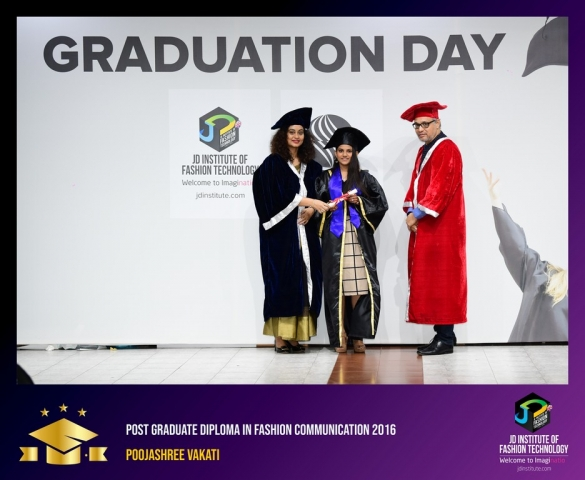 JD Institute Holds Graduation Ceremony for its Diploma and Post Graduate Students Post Graduate Diploma In Fashion Communication 3