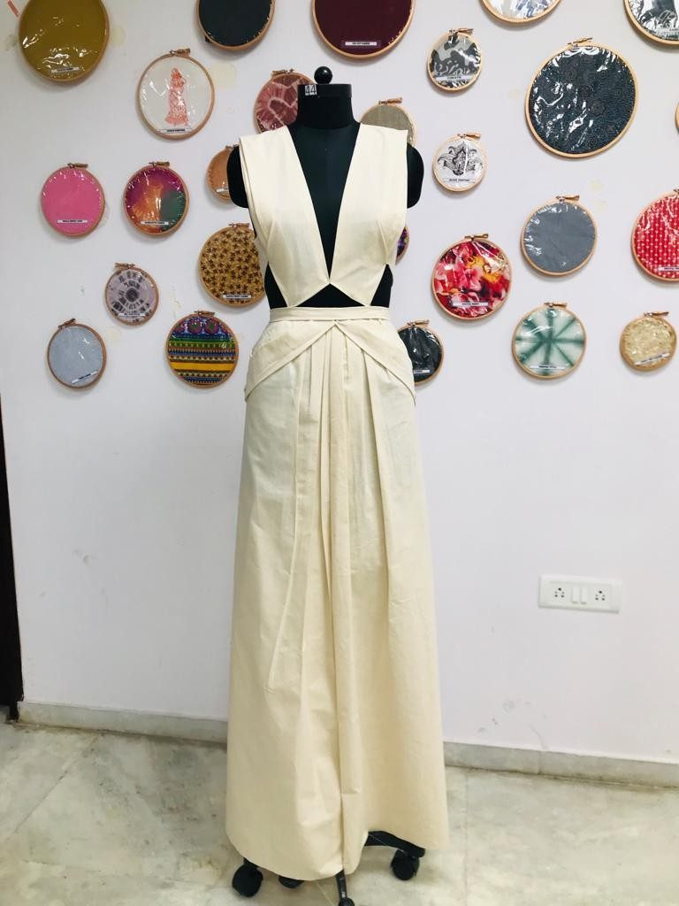 draping FASHION DRAPING – A DESIGNER'S BLUE PRINT Weekend Batch 2019 Draping Display 24 768x1024
