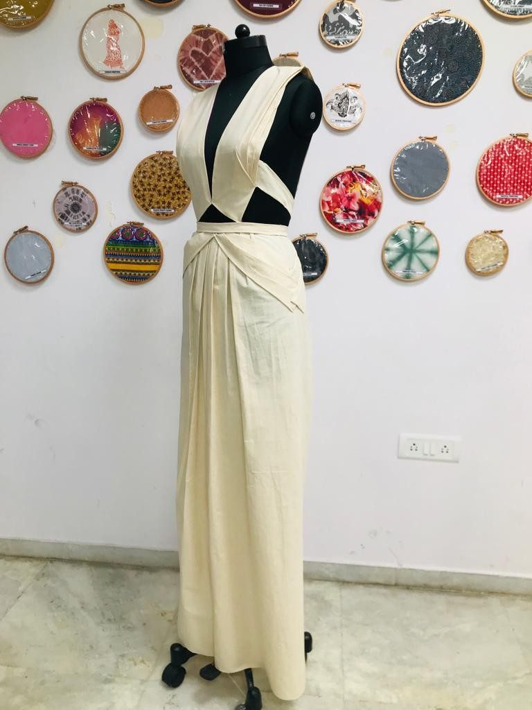 draping FASHION DRAPING – A DESIGNER'S BLUE PRINT Weekend Batch 2019 Draping Display 25 768x1024