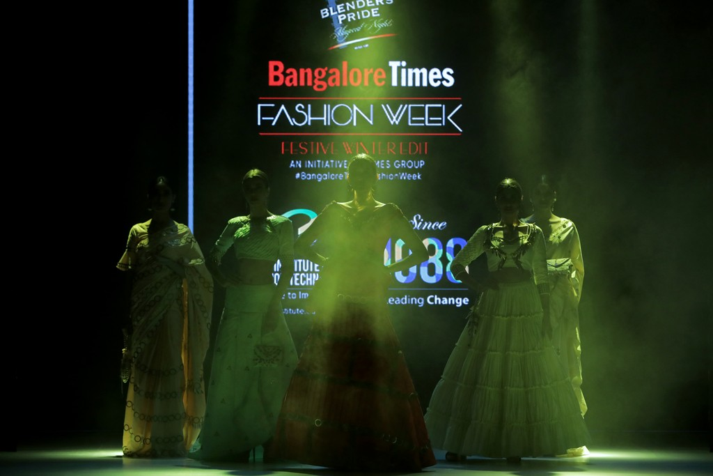jd institute JD INSTITUTE BRINGING THE BEST VERSION OF DESIGN AT BANGALORE TIMES FASHION WEEK- WINTER FESTIVE EDIT Bangalore Time Fashion Week 2019 1