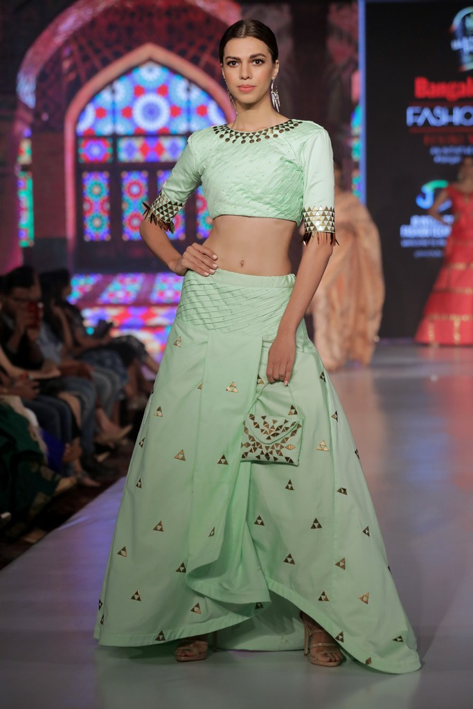 jd institute JD INSTITUTE BRINGING THE BEST VERSION OF DESIGN AT BANGALORE TIMES FASHION WEEK- WINTER FESTIVE EDIT Bangalore Time Fashion Week 2019 32
