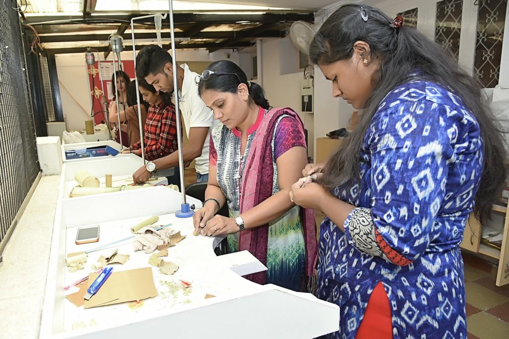 bamboo workshop - Bamboo workshop by Jigna Bhadeshiya 6 - Bamboo workshop by Jigna Bhadeshiya – Jewellery Design Department