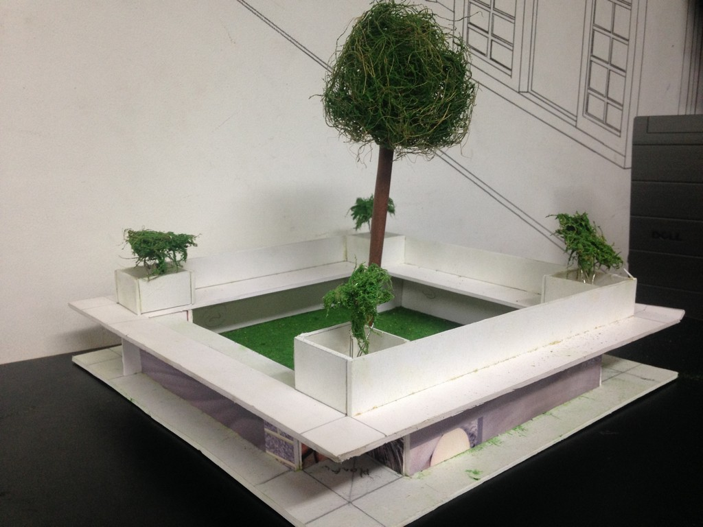 landscape model making Landscape Model Making – Advance Diploma in Interior Design Bijeta and Rahul 3