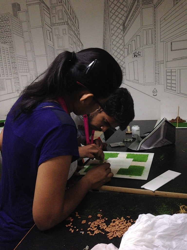 landscape model making Landscape Model Making – Advance Diploma in Interior Design Darshan Shravani 1