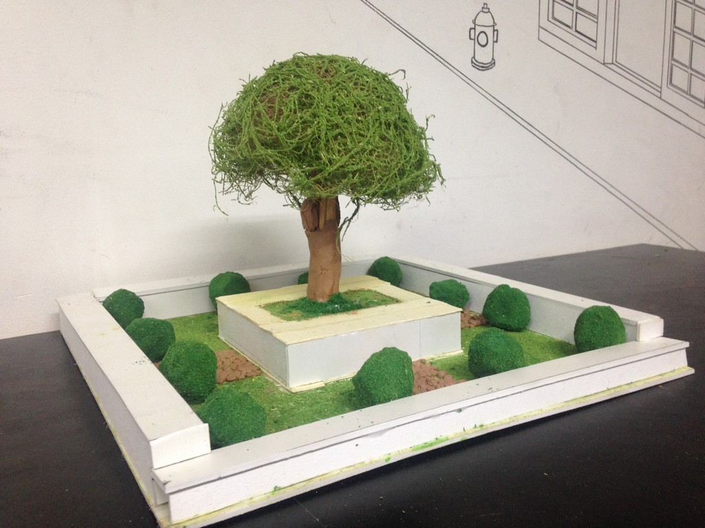landscape model making Landscape Model Making – Advance Diploma in Interior Design Darshan Shravani 6