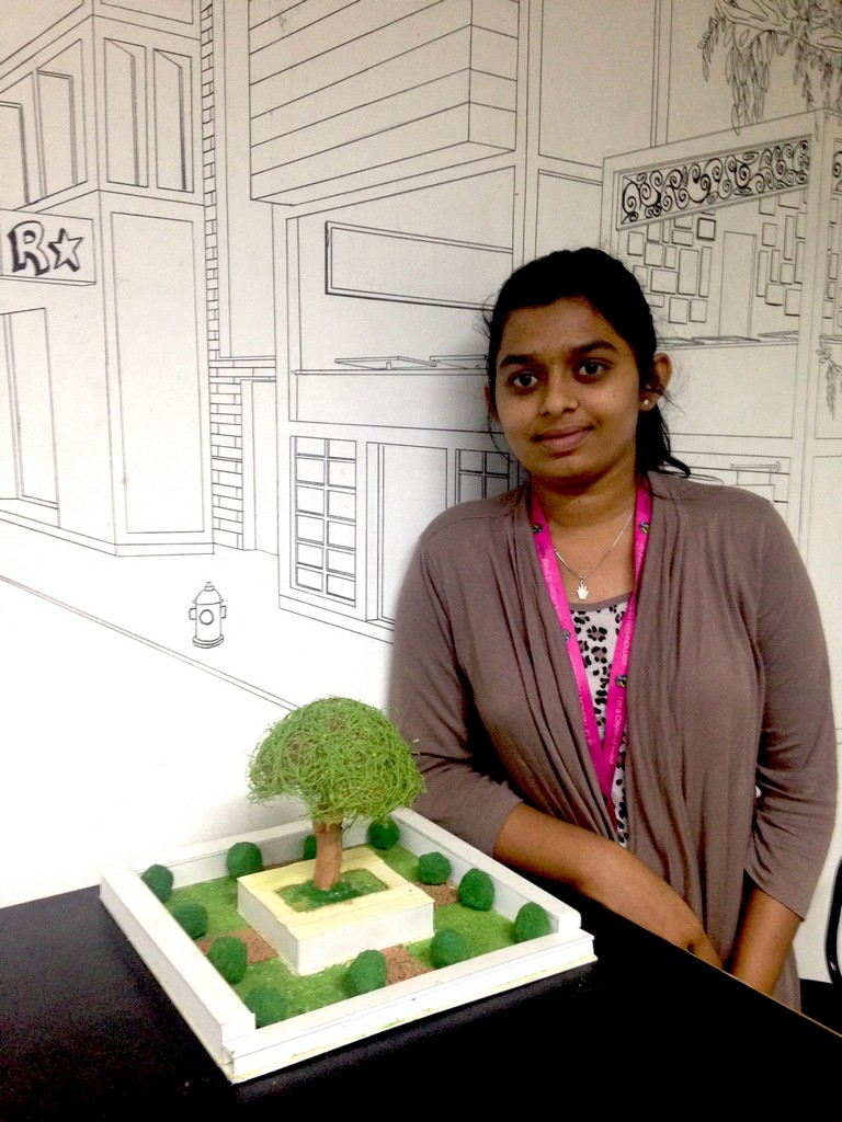 landscape model making Landscape Model Making – Advance Diploma in Interior Design Darshan Shravani 8