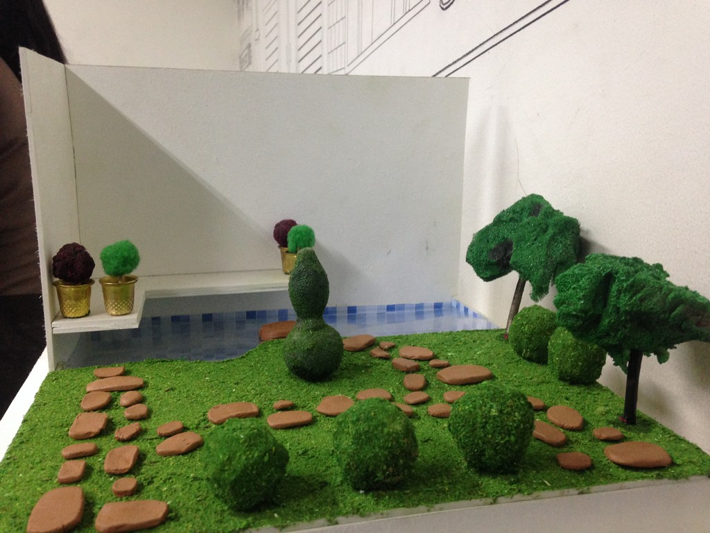 landscape model making Landscape Model Making – Advance Diploma in Interior Design Linda Vinay 3
