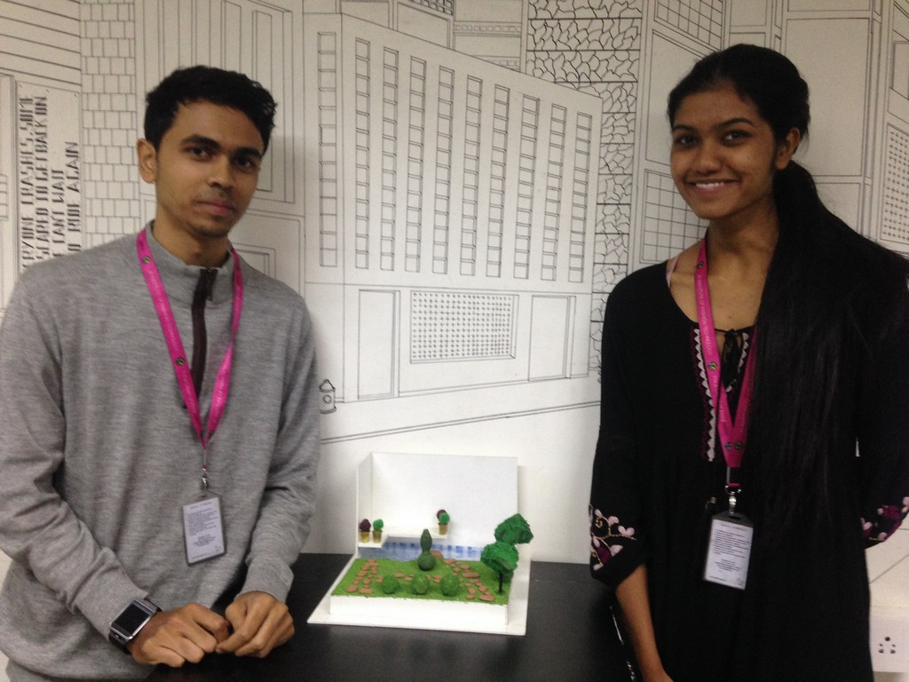 landscape model making Landscape Model Making – Advance Diploma in Interior Design Linda Vinay 4