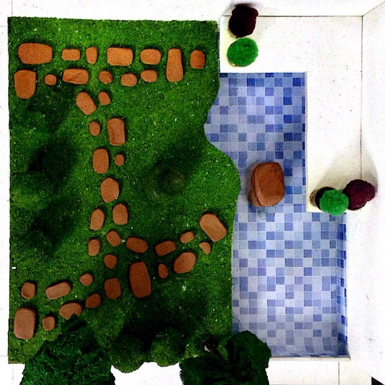 landscape model making Landscape Model Making – Advance Diploma in Interior Design Linda Vinay 8