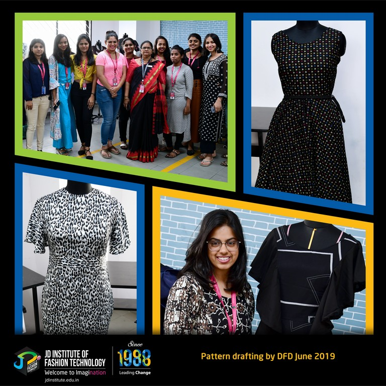 Translation Of Basic Pattern Drafting Into Customized Measurements Jd Institute Of Fashion Technology