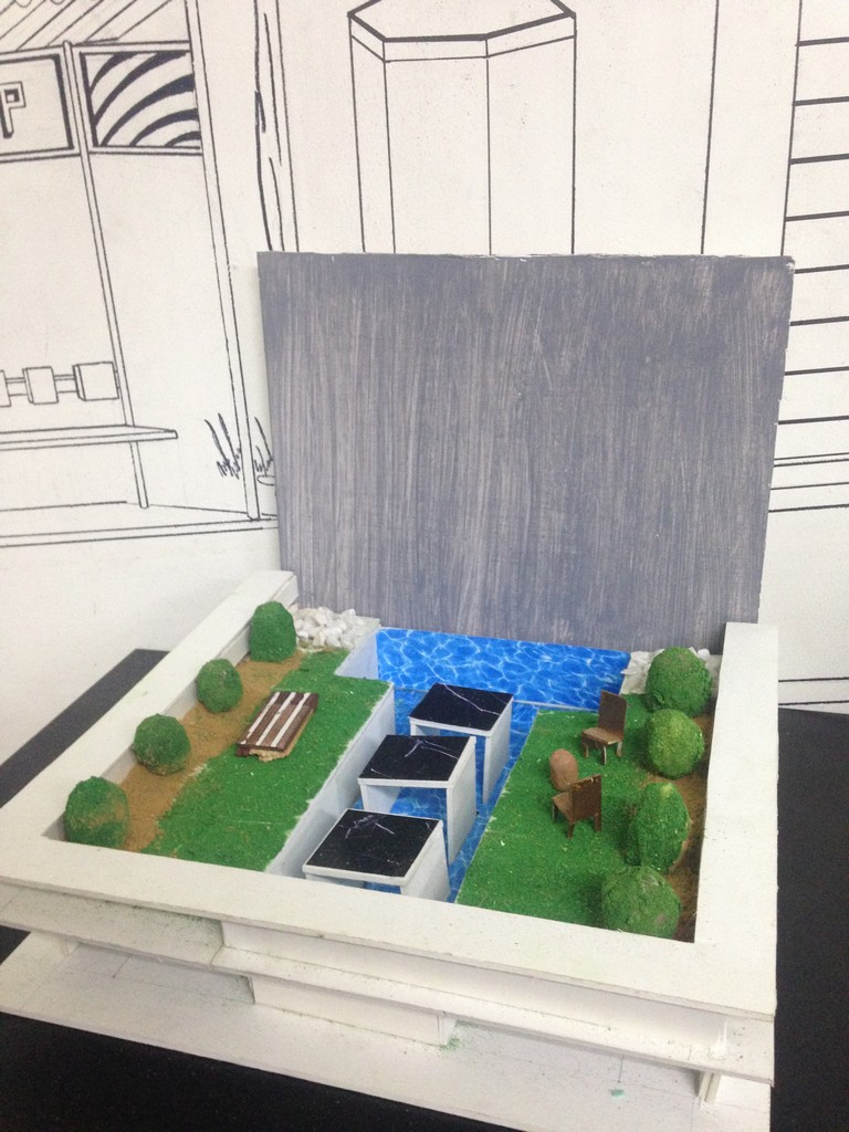 landscape model making Landscape Model Making – Advance Diploma in Interior Design Roopa Smruthi 2