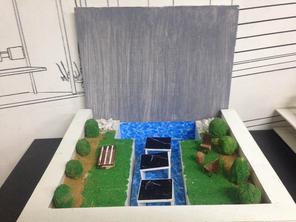 landscape model making Landscape Model Making – Advance Diploma in Interior Design Roopa Smruthi 3