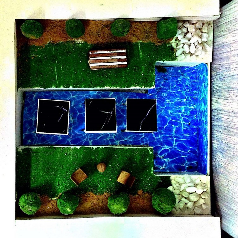 landscape model making Landscape Model Making – Advance Diploma in Interior Design Roopa Smruthi 8