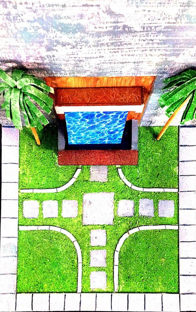 landscape model making Landscape Model Making – Advance Diploma in Interior Design Sharath Shrenik 12