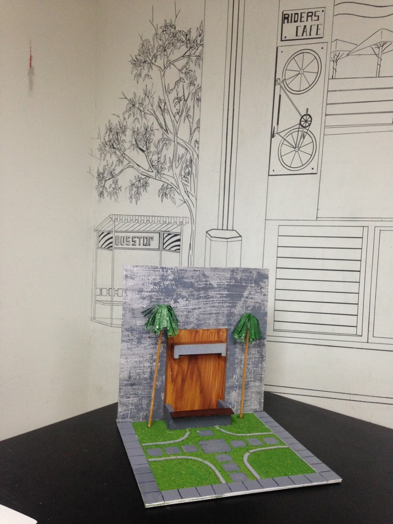 landscape model making Landscape Model Making – Advance Diploma in Interior Design Sharath Shrenik 5