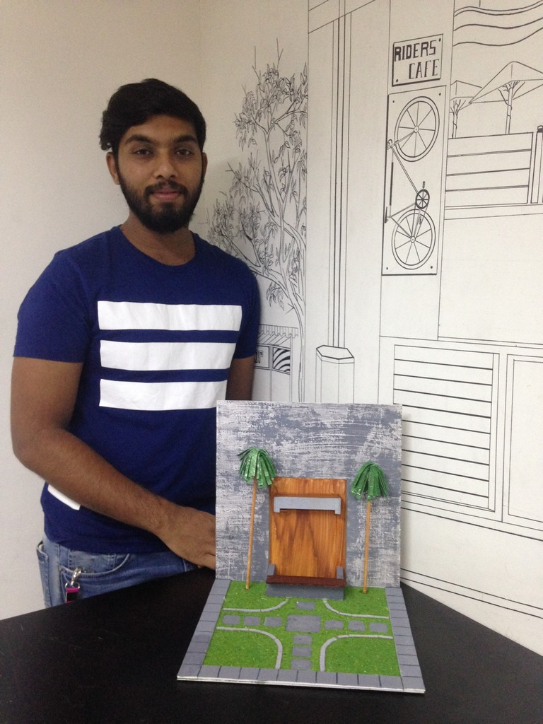 landscape model making Landscape Model Making – Advance Diploma in Interior Design Sharath Shrenik 8