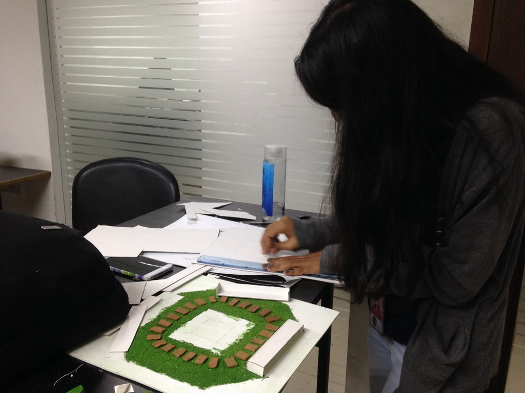 landscape model making Landscape Model Making – Advance Diploma in Interior Design Shreya Vidushi 1