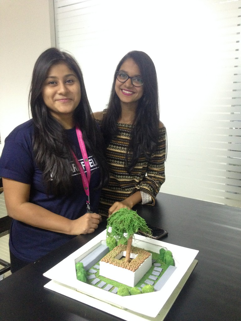 landscape model making Landscape Model Making – Advance Diploma in Interior Design Shreya Vidushi 9