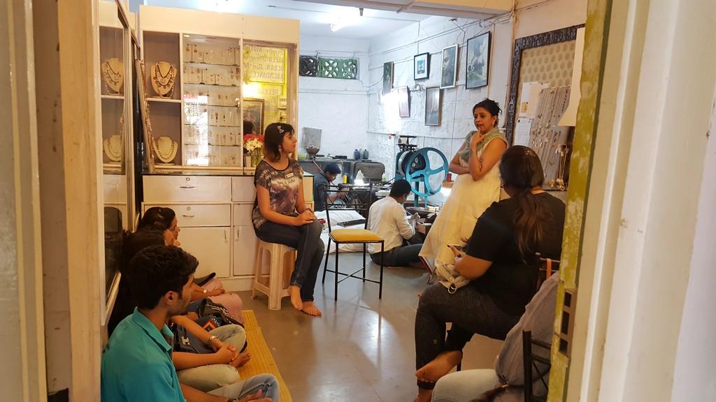 Tharangini Workshop Jd Institute Of Fashion Technology