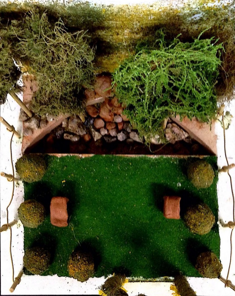 landscape model making Landscape Model Making – Advance Diploma in Interior Design akshata vikshita 6