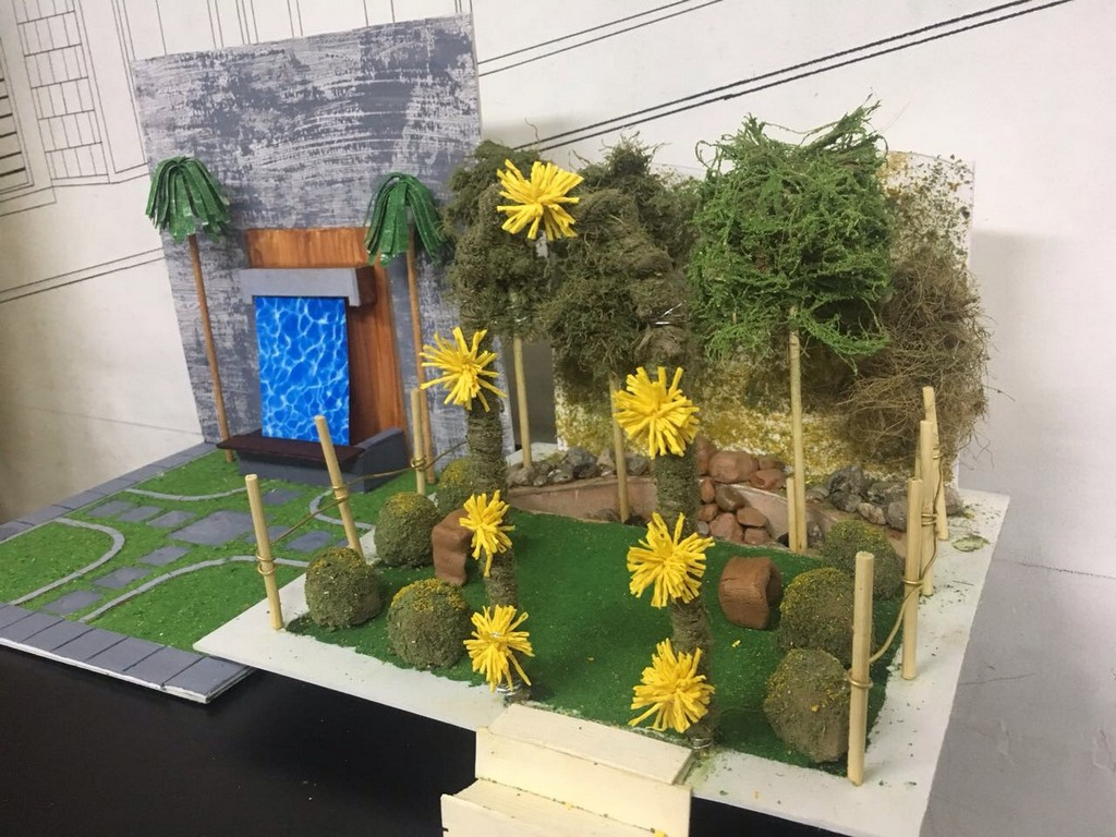 landscape model making Landscape Model Making – Advance Diploma in Interior Design akshata vikshita 7