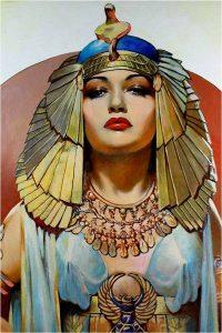 lipstick - Egyptian woman 200x300 - Evolution of Lipstick