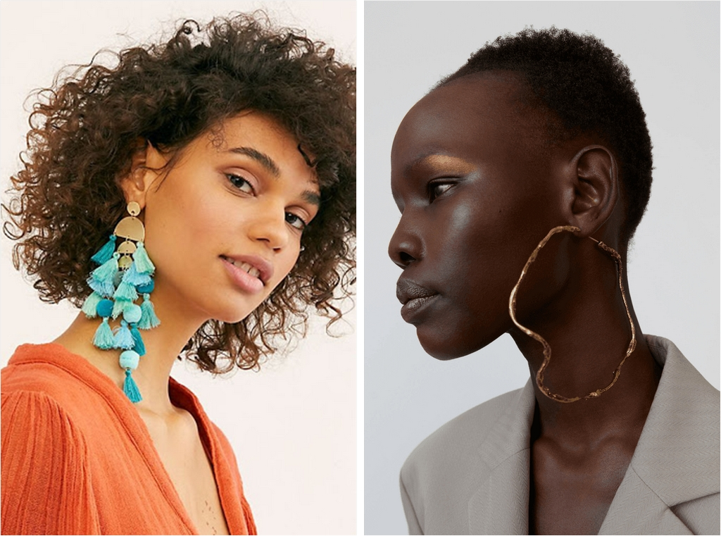 jewellery - Single Earring - A REVIEW OF SIX NEW JEWELLERY TRENDS OF SPRING/SUMMER 2020