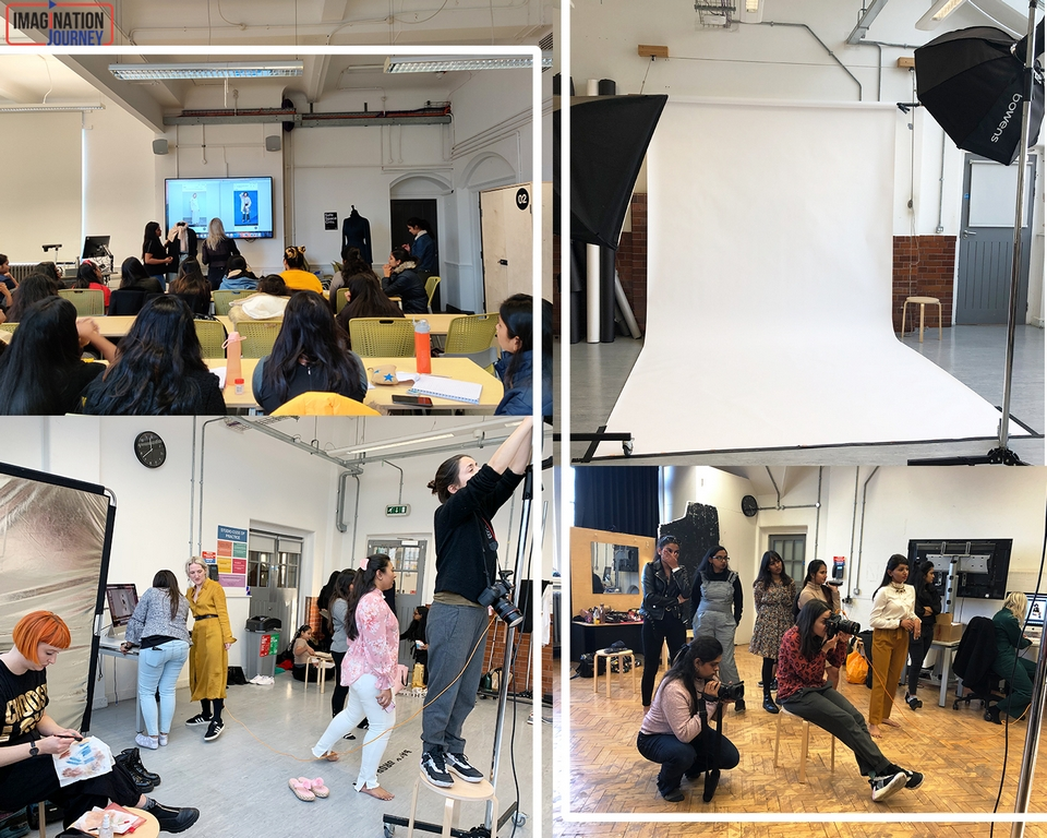 BTS shots styling - BTS shots - STYLING AWAY AT LONDON!