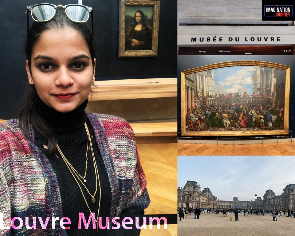 Louvre Museum fashion styling - Louvre Museum - A JOURNEY IN STYLE!
