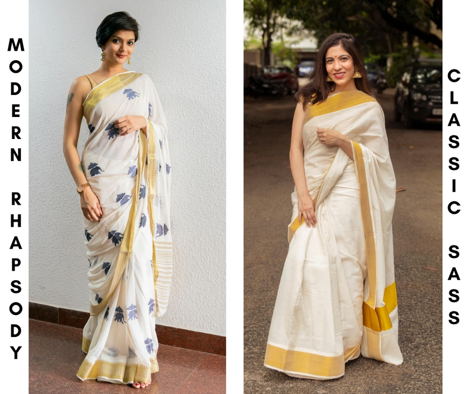 onam look - Onam saree - The Onam look is much easy to ace with these simple tips
