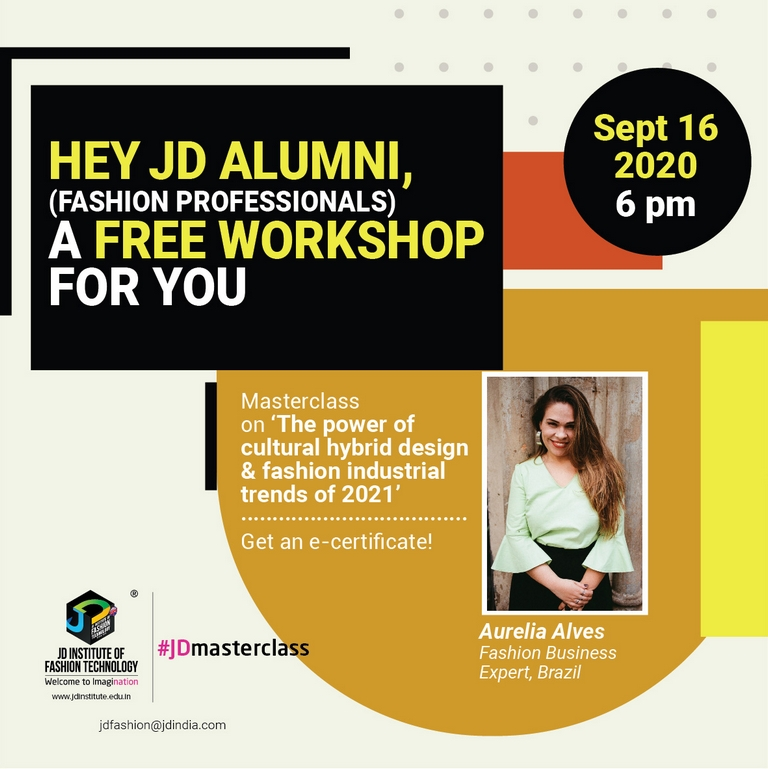 masterclass - Webinar 16sept - Masterclass with Aurelia Alves for JD Alumni